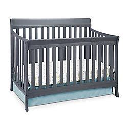 Stork Craft Avalon Convert Crib-Grey
