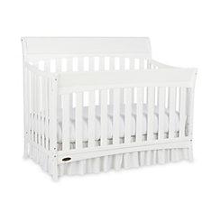 Rory Convert  Crib-White