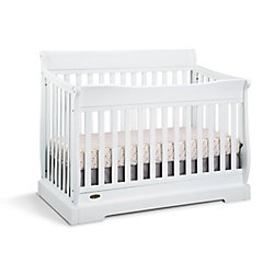 Graco Maple Ridge Convert Crib-White