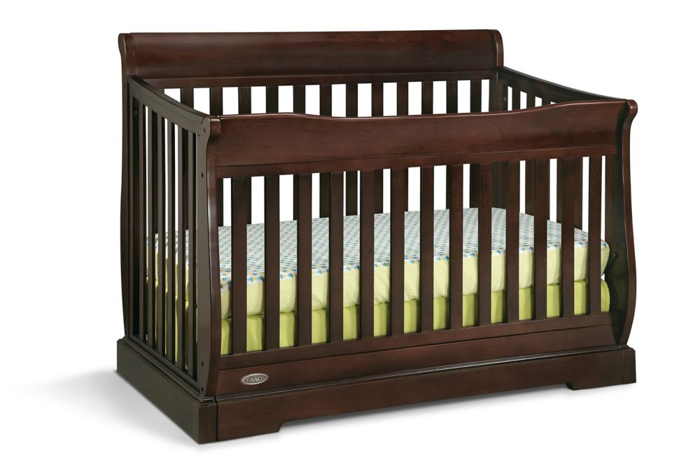 Graco Maple Ridge Convert Crib-Espresso