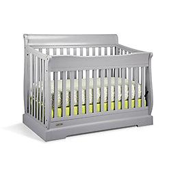Graco Maple Ridge Convert Crib-Pebble Grey