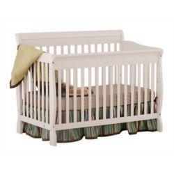 Stork Craft Modena Crib-White