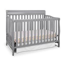 Graco Stanton Crib - Pebble Grey