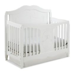 Stork Craft Lit de bébé transformable 4-en-1 Princess de Storkcraft