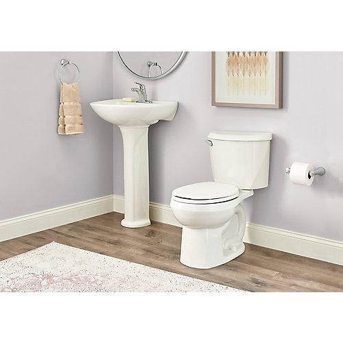 Toilette à devant arrondi Reliant, 4,8 L, blanc