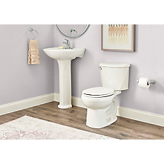 Reliant 4.8 LPF Round Front Toilet in White
