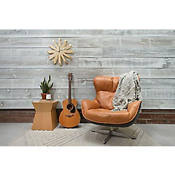 "JDIRVING 1""x4""x6' WHITE WASH KD BARN BOARD"