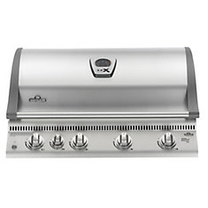 LEX605 Built-In Gas BBQ with Infrared Bottom & Rear-Burners