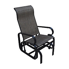 Bahia Patio Glider In Dark Brown