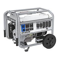 Générateur portable de 8,750-watts fonctionnant à l'essence avec démarreur électrique et ensemble de roues