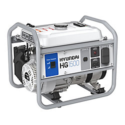 Hyundai 1,750W Gas-Powered Portable Generator