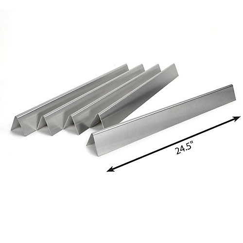 Stainless Steel Heat Tents for Genesis 300 BBQ
