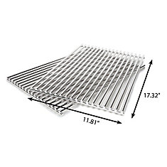 Stainless Steel Rod Grids Compatible with Spirit 300 BBQ