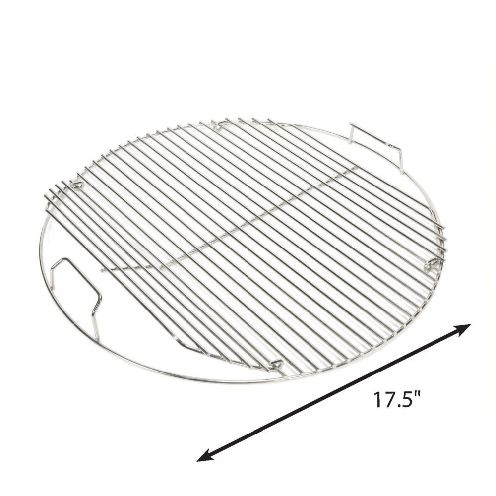 18.5-inch Hinged Stainless Steel Grid
