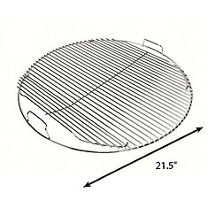 22.5-inch Hinged Stainless Steel Grid