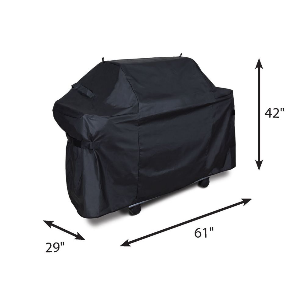 Deluxe PVC/Polyester Cover for Genesis 300 BBQ