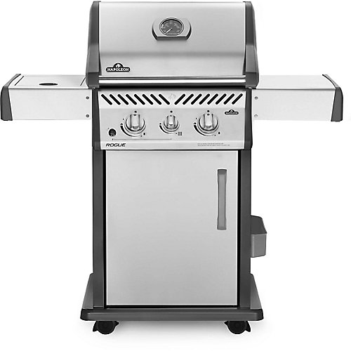 Rogue 365 Natural Gas Grill with Infrared Side Burner
