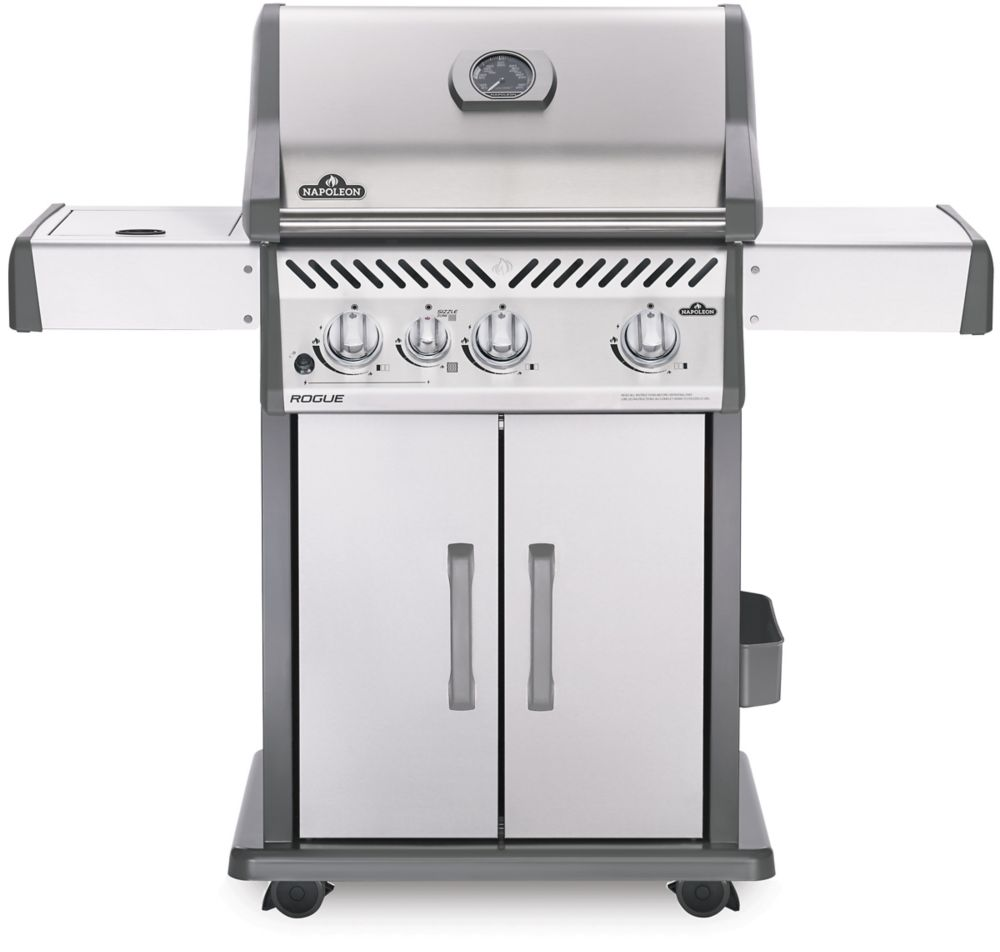Napoleon Rogue 365 Natural Gas Grill with Infrared Side Burner