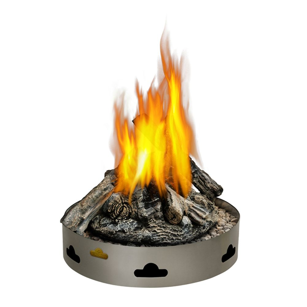 Napoleon Patioflame Natural Gas Fire Pit with Logs