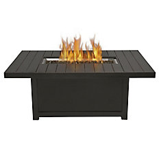 St. Tropez Rectangle Patio Flame Table