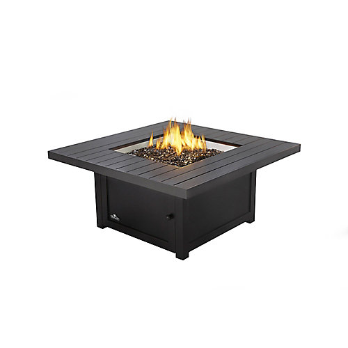 St. Tropez Square Patio Flame Table