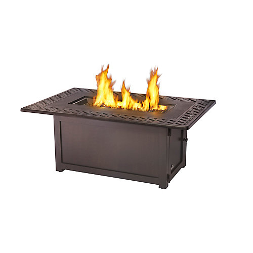 Kensington Rectangular Patio Flame Table