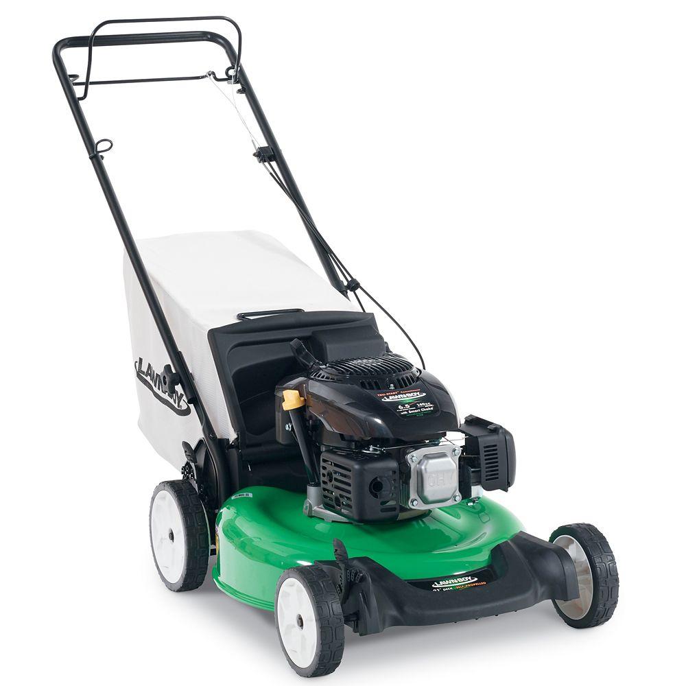 21-Inch Rear Wheel Drive Self-Propelled Walk-Behind Gas Mower with Kohler Engine