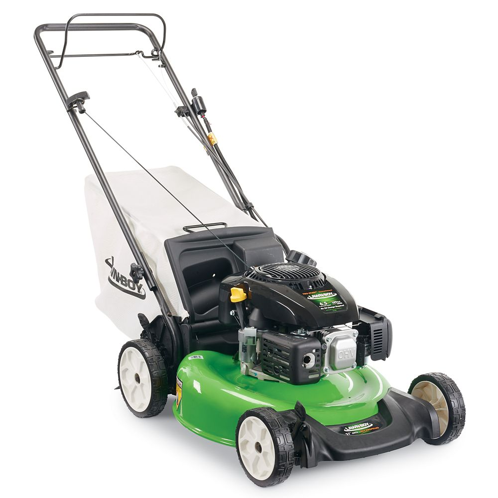 21-inch Electric Start Self-Propelled Gas Lawn Mower with Kohler Engine