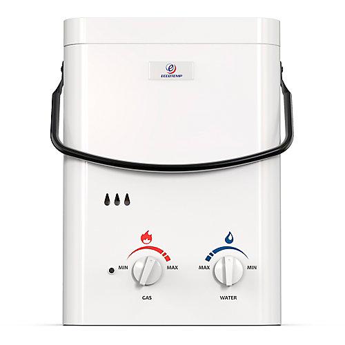 L5 5 LPM Liquid Propane Gas Portable Tankless Water Heater