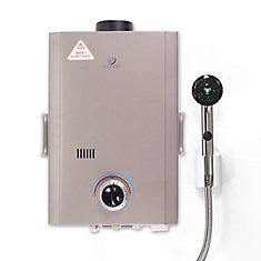 L7 6 LPM Liquid Propane Gas Portable Tankless Water Heater