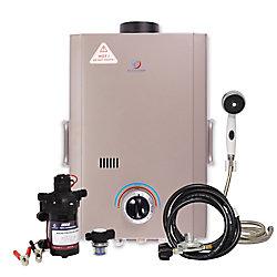 Eccotemp Kit chauffe-eau instantané Eccotemp L7 (pompe 12v & filtre)