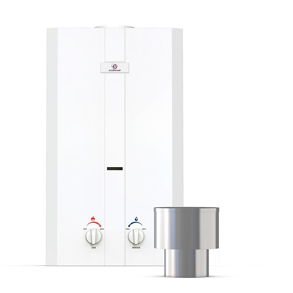 L10 11 LPM Liquid Propane Gas Portable Tankless Water Heater