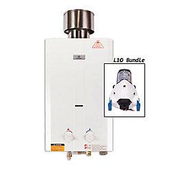Eccotemp Kit chauffe-eau instantané Eccotemp L10 (pompe 12v)