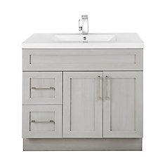 cutler kitchen bath meadows cove 36 inch w 2 drawer 2 door freestanding vanity in off white. Black Bedroom Furniture Sets. Home Design Ideas