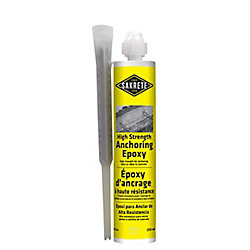 SAKRETE High Strength Anchoring Epoxy, 255 mL