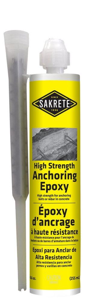 SAKRETE High Strength Anchoring Epoxy, 255 mL