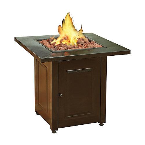 Square Propane Fire Pit