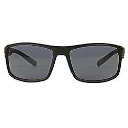 Shadedeye Black Square Lunettes de soleil Black Lens