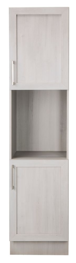 18 Inch Meadows Cove Shaker Linen Tower Right Hand