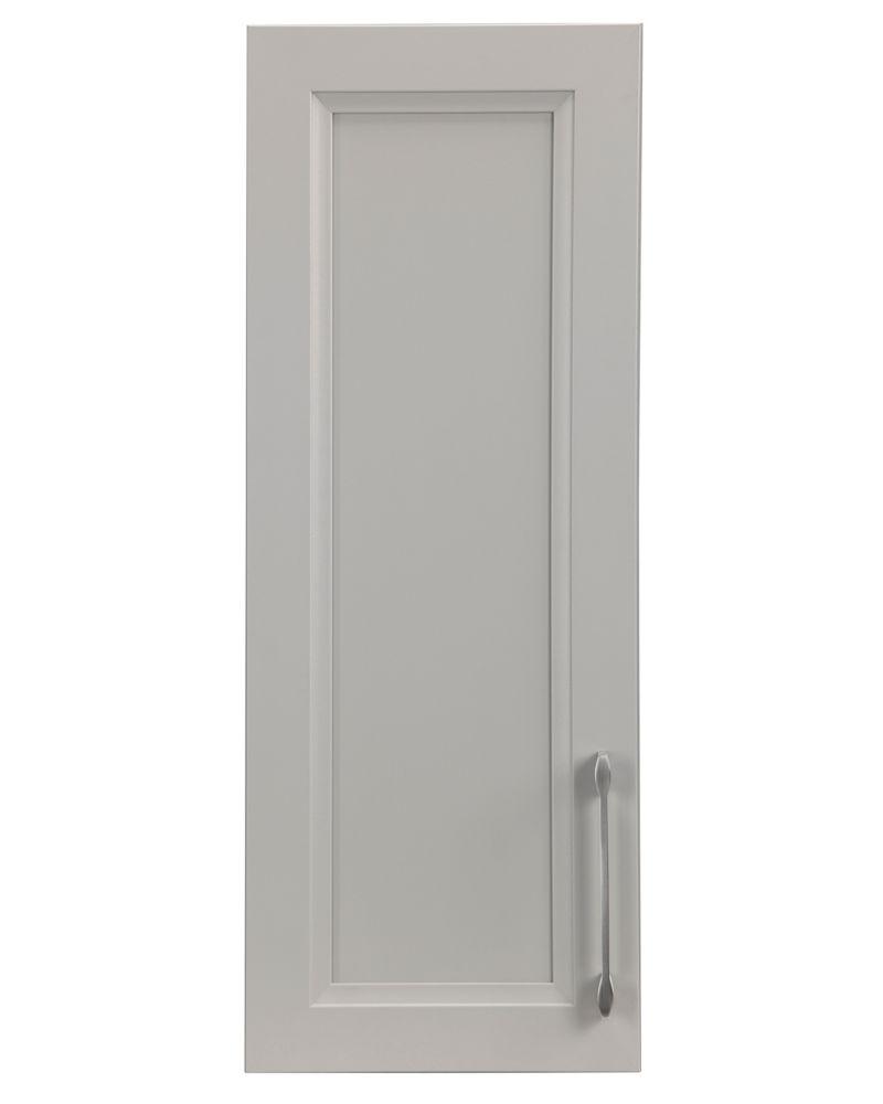 Cutler Kitchen & Bath 12-inch Veil of Mist Bevel Shaker Medicine Cabinet