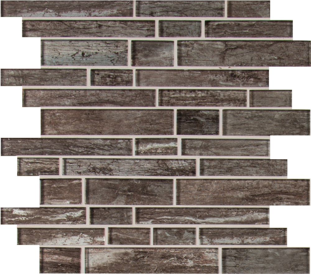 MSI Stone ULC Antico Silversmith Interlocking 12 Inch x 12 Inch Glass Mesh-Mounted Mosaic Tile (10 sq. ft. / case)