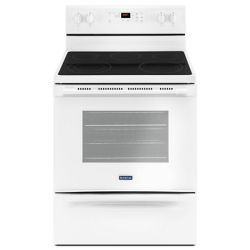 Maytag 5.3 cu. ft. Electric Range with Self-Cleaning Oven in White