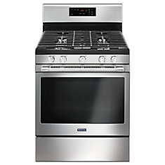 5.0 cu.ft. Gas Range with Self-Cleaning Oven in Fingerprint Resistant Stainless Steel