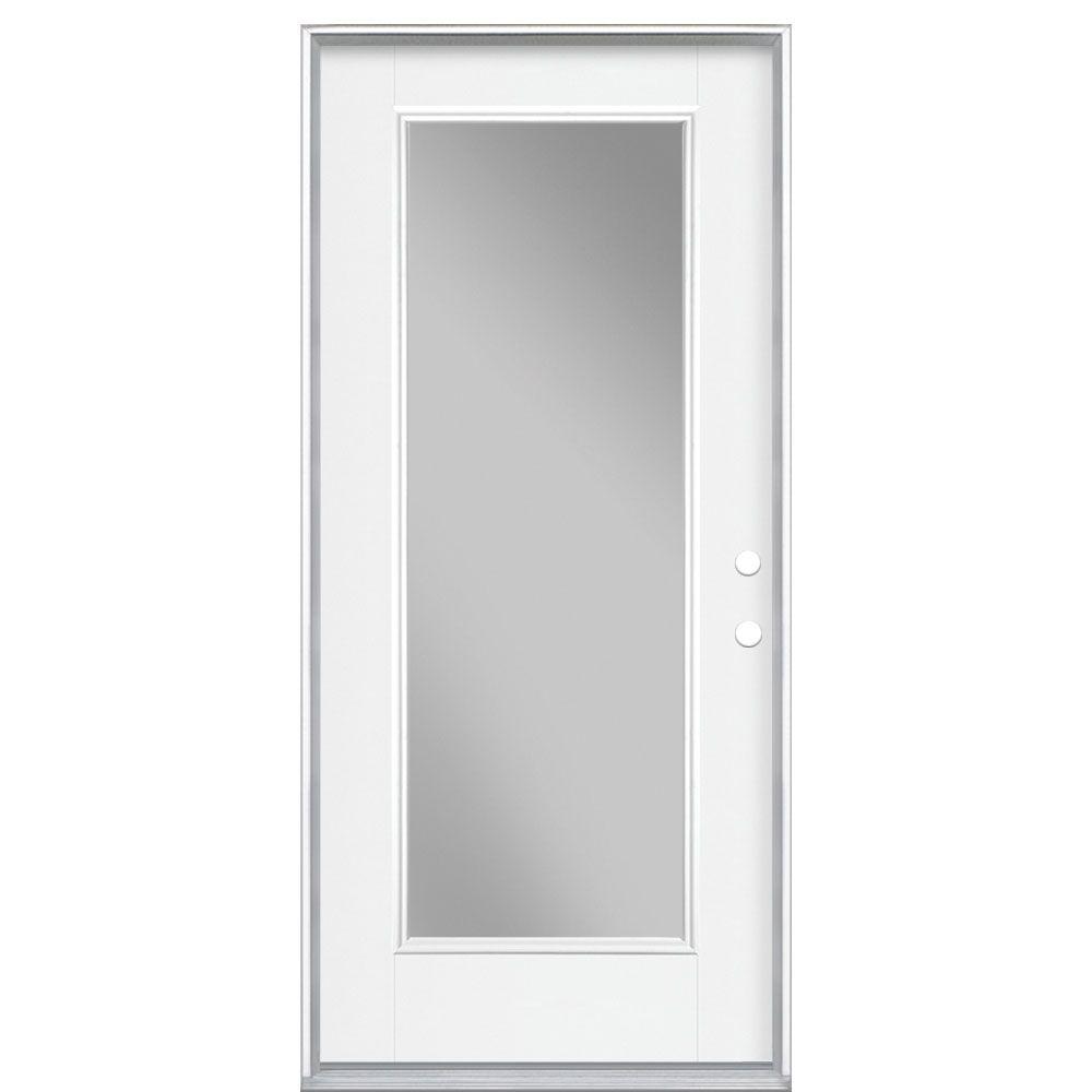 Masonite 36 inch x4-9/16 Clear 1 Lite Low-E LH - ENERGY STAR®