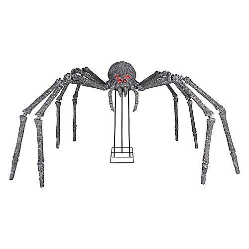 6 ft. Gargantuan Spider with Light-Up Eyes Outdoor Halloween Decoration