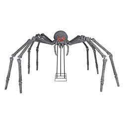 Home Accents Halloween 6 ft. Gargantuan Spider with Light-Up Eyes Outdoor Halloween Decoration