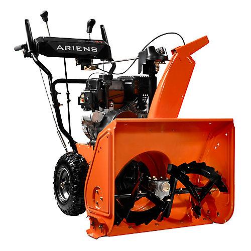 Classique de 24pouces, à deux étapes, moteur de 208cc Ariens AX à démarrage électrique à 120V