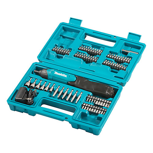 1/4-inch Cordless Screwdriver Kit