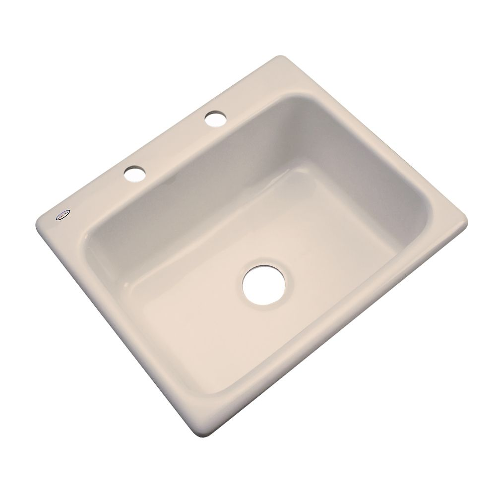 Thermocast Inverness 25 Inch Single Bowl Candlelyght Kitchen Sink