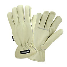 Water-Resistant Leather Glove - M